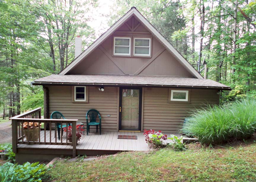 Shenandoah Chalet Virginia Mountain Vacation Cabin Rental Va